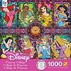 Disney Fine Art 1000 Piece Puzzle -  Princess Collage