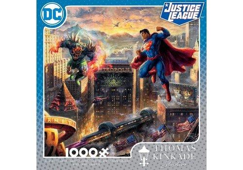 DC Comics Thomas Kincade Man of Steel 1000pc Puzzle