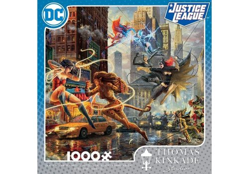 DC Comics Thomas Kincade The Women of DC 1000pc Puzzle