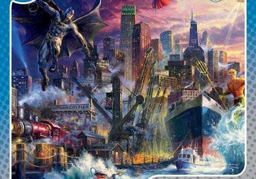 DC Comics Thomas Kincade Gotham 1000pc Puzzle