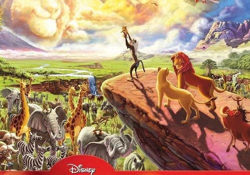 Disney Fine Art 1000 Piece Puzzle - The Lion King