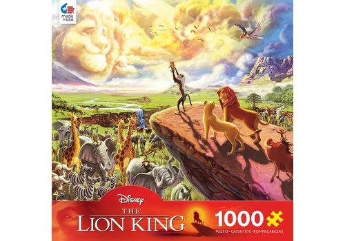 Disney Fine Art 1000 Piece Puzzle - The Lion King