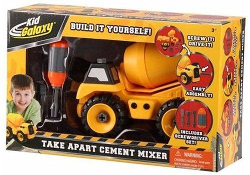 Take Apart Cement Mixer