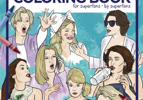 The Best of Real Housewives of New York Coloring Book