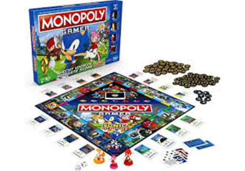 Sonic the Headgehog Monopoly Game