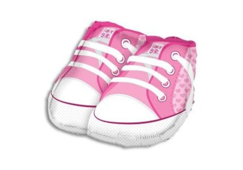 Baby Girl Shoe Balloon