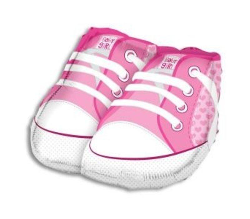 Baby Girl Shoe Balloon