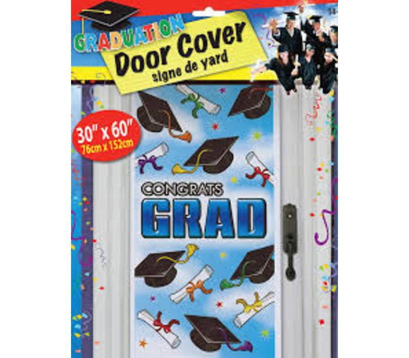 """GRADUATION DOOR COVER - 30""""X60"""