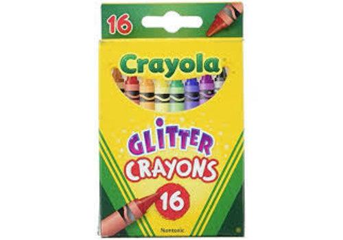 16 CT Glitter Crayons