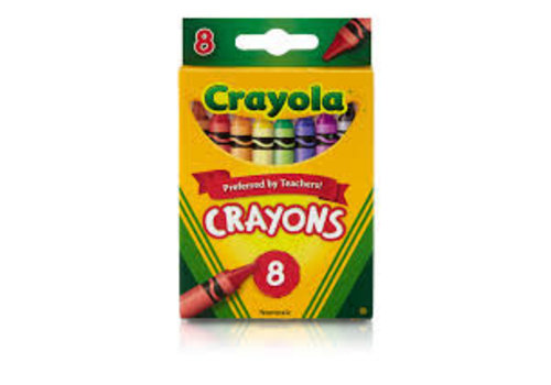 Crayola 8 CT Crayons
