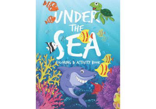 Under The Sea Coloring & Activity Book