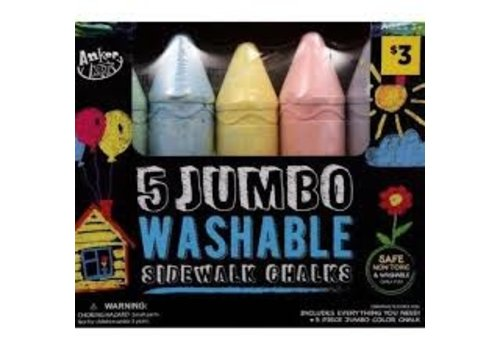 Jumbo Washable SIdewalk  Chalk