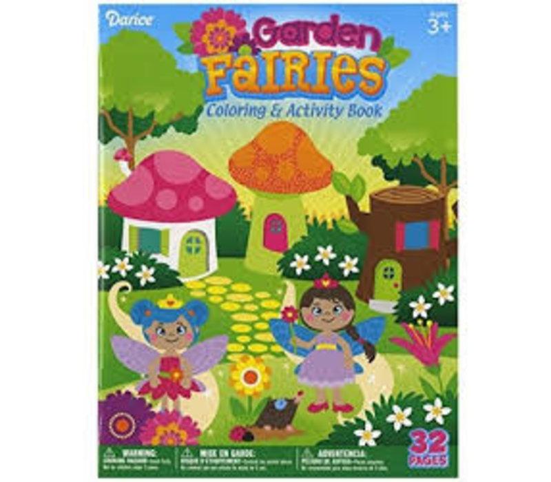 Garden Fairies Coloring/ Activity Book