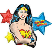 "Wonder Woman 33"" Mylar Balloon"