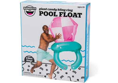 Giant Bling Ring Pop Pool Float