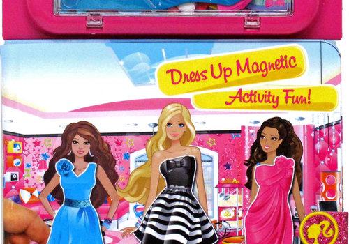 Barbie Dress Up Magnetic Fun Activity