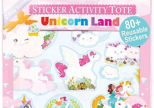 Sticker Activity Tote - Unicorn Land