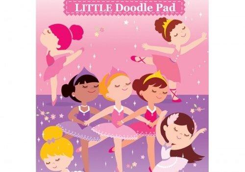 Ballerina Little Doodle Pad