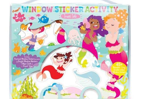 Mermaid Window Sticker Activity