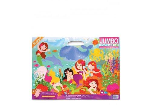 Jumbo Doodle Pad - Magical Mermaids