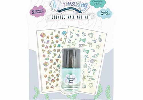 Mermazing Scented Nail Poilish Art Kit