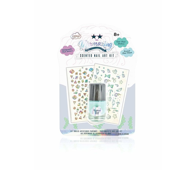 Mermazing Scented Nail Poilish Art Kit