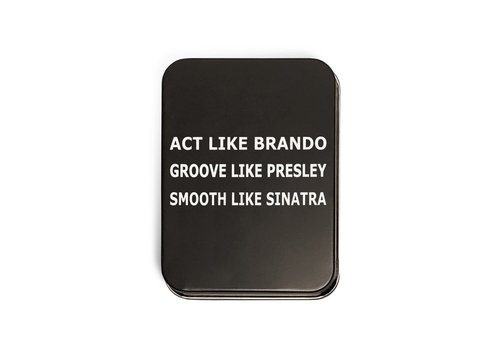 Playing Cards Act Like Brando Boxed Tin