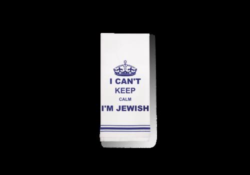 Cant keep Calm Jewish Towel