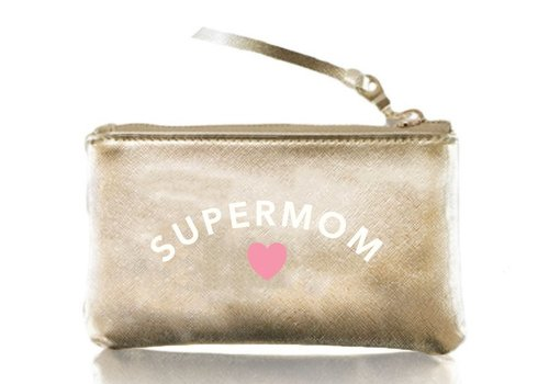 Supermom Gold Vegan Pouch