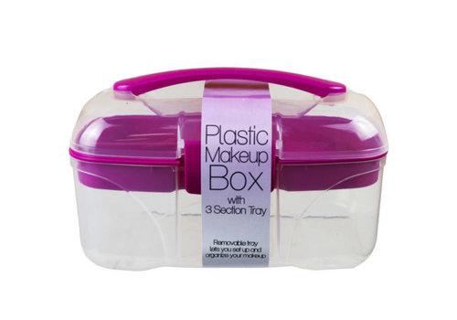 Plastic Makeup Caddy