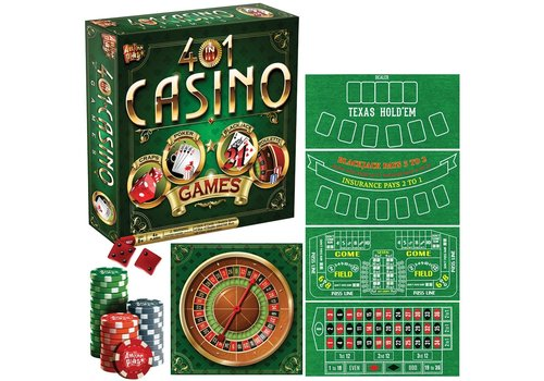 4 in 1 Casino Games
