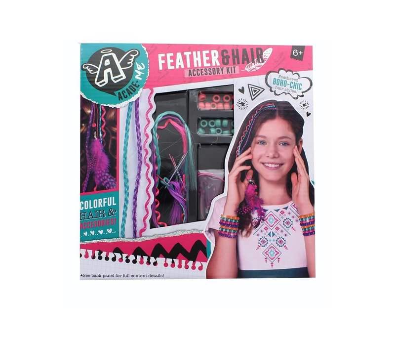 Feather and Hair Accessory Kit