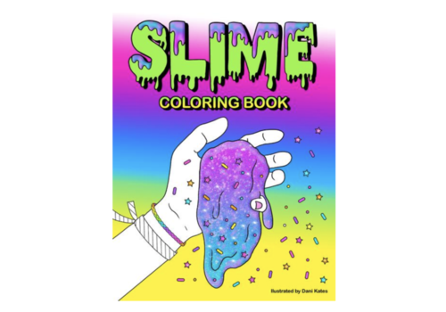 Slime Coloring Book