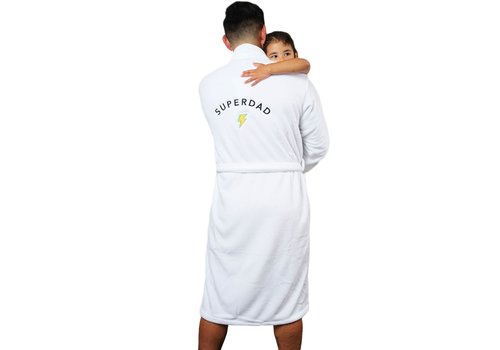 SUPERDAD Luxe Plush Robe