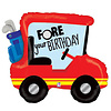 "betallic Golf Cart 34"" Mylar Balloon"