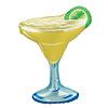 """betallic Margarita with Lime 36"""" Mylar Balloon"""