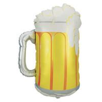 """Beer Mug 34"""" Mylar Balloon"""