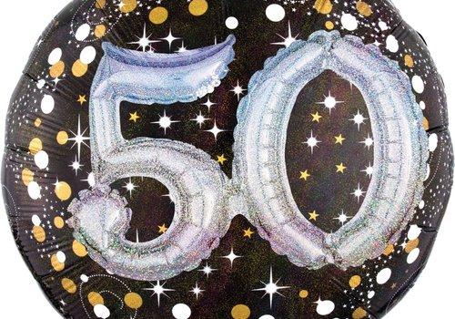 "Anagram Holographic 50 Mylar Balloon 32"""