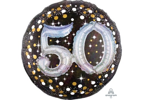 Anagram Holographic 50 Mylar Balloon 32""