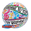 """HBD to you 22"""" Deco Bubble"""