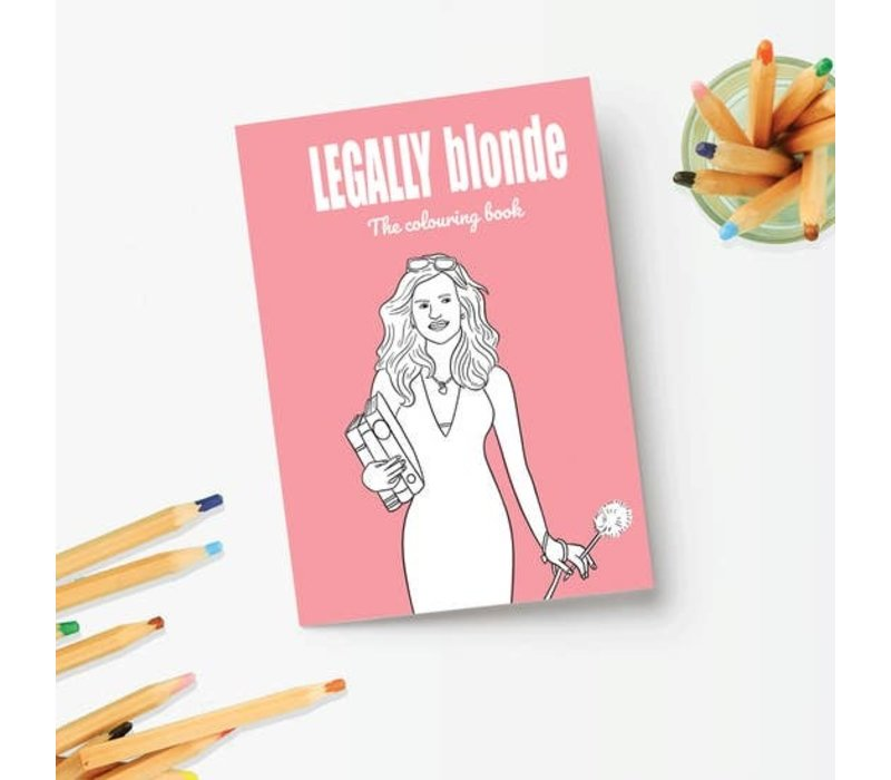Legally Blonde Coloring Book