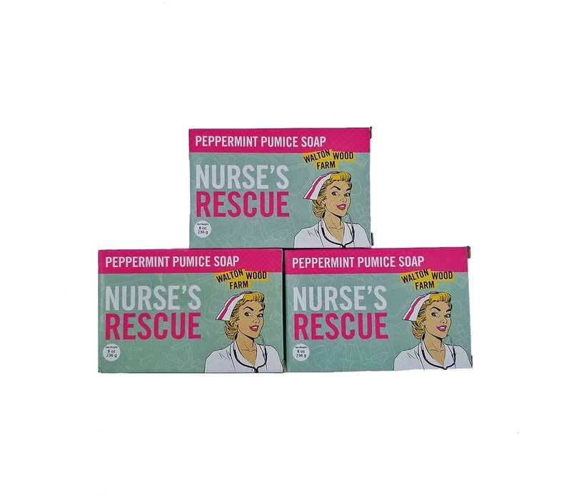 Nurses Rescue- Peppermint Pumice Soap