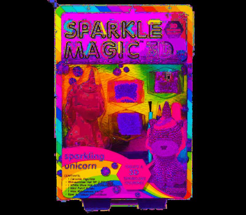 Sparkle Magic 3D Unicorn