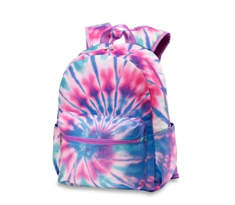 Tie Dye Canvas Backpack