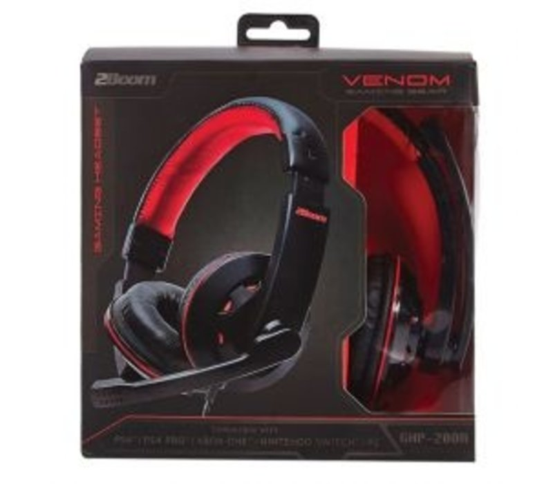 2Boom Venom Gaming Headset