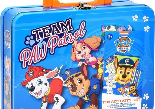 Team Paw Patrol Art & Activity Tin