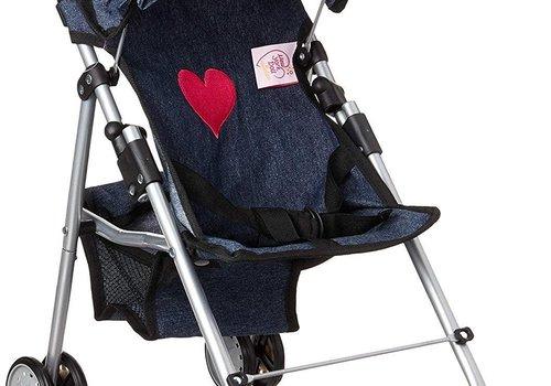 My First Doll Stroller- Denim