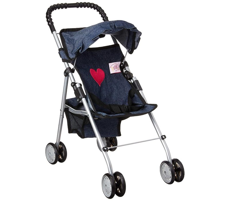 My First Doll Stroller- Denim