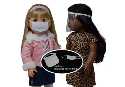 Doll Face Mask and Face Shield
