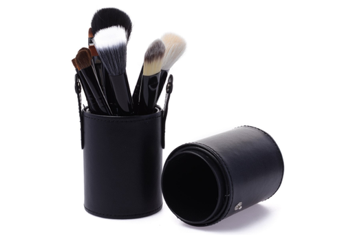 12 Piece Brush Set in Round Case